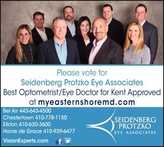 Vote for Seidenberg Protzko Eye Associates