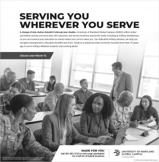 Serving You Wherever You Serve
