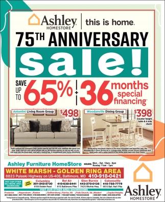 75th Anniversary Sale!