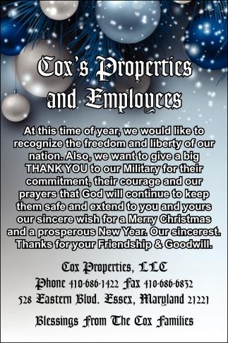 Coxs Properties