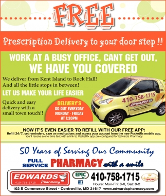 Prescription Delivery to your Door Step