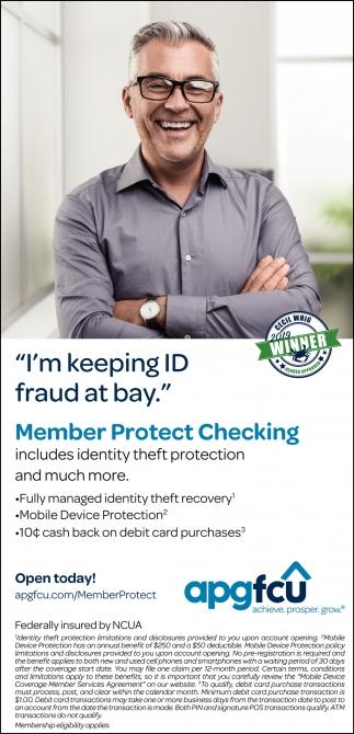 Member Protect Checking