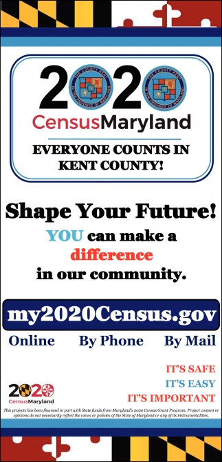 Everyone Counts In Kent County!