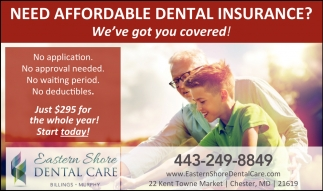 Need Affordable Dental Insurance