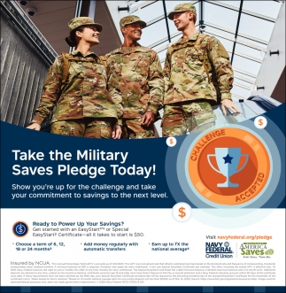 Take The Military Saves Pledge Today!