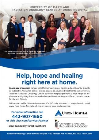 Help, Hope and Healing