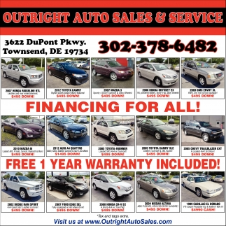 for all!, Outright Auto Sales and Service