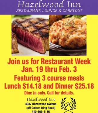 Restaurant Lounge And Carryout