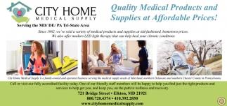 City Home Medical Supply Inc