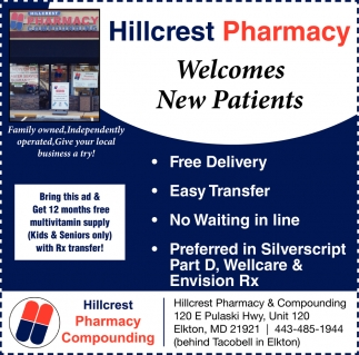 Welcomes New Patients