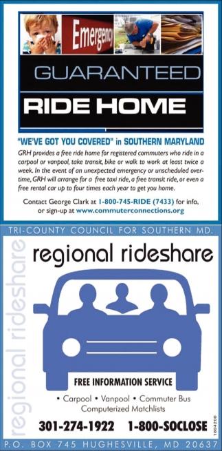 Regional Rideshare