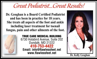 Great Podiatrist...Great Results!