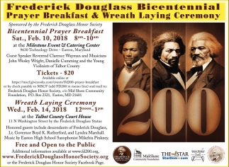 Frederick Douglass Day