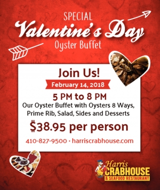 Valentine S Day Harris Crabhouse
