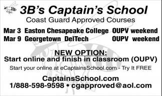 3Bs Captains School