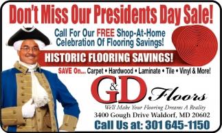 Historic Flooring Savings!