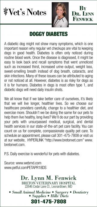 Goggy Diabetes