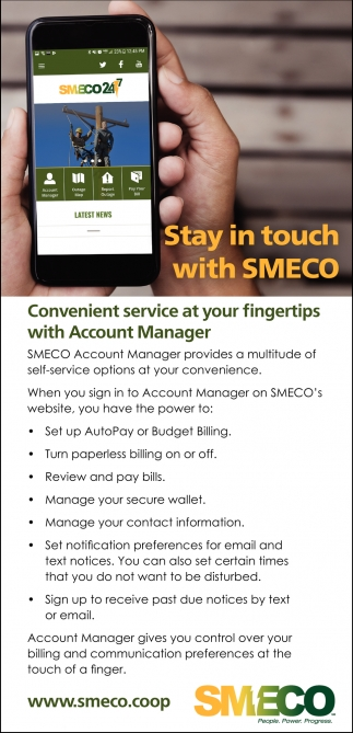 Stay In Touch Smeco