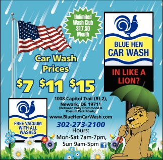 Car Wash Prices