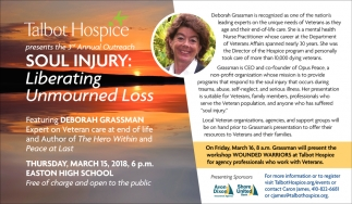 Soul injury: liberating unmourned loss