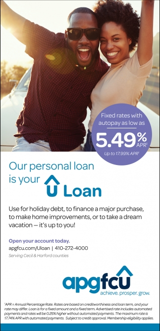 Our personal loan