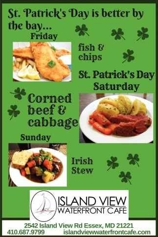St. Patrick's Day is better by the bay