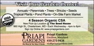 Visit our Garden Center