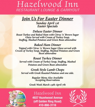 Easter Dinner