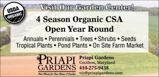 Year Round Organic CSA