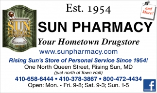 Your Hometown Drugstore