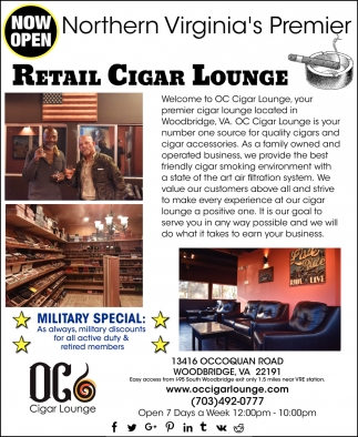 Retail Cigar Lounge