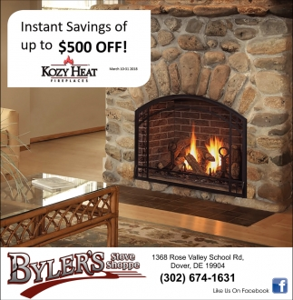 Instant savings of up to $500 OFF