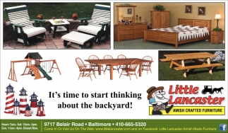 It's Time to Start Thinking About the Backyard