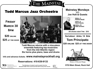 Todd Marcus Jazz Orchestra