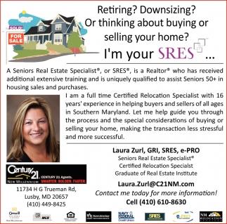 Retiring? Downsizing?