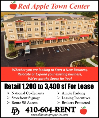 Retail 1,200 to 3,400 sf For Lease