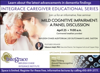 Integrace Caregiver Educational Series