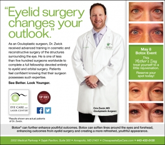 Eyelid Surgery Changes Your Outlook