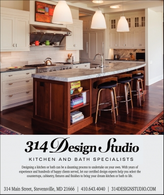 Kitchen and Bath Specialist, 314 Design Studio