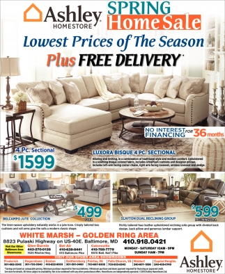 Spring Home Sale Ashley Homestore Baltimore Md