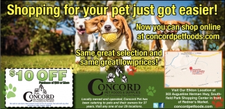 Shopping for your pet just got easier