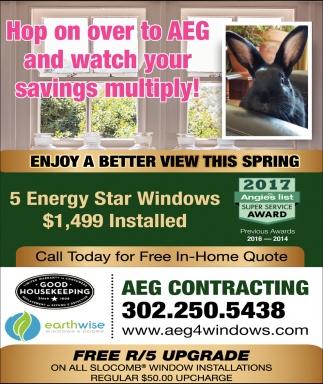 better view windows fresh enjoy better view this spring aeg contracting llc chesapeake city md