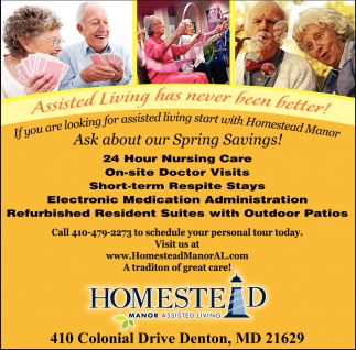 Assisted Living has Never Been Better