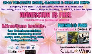 2018 Tri-State Home, Garden & Health Expo