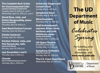 The UD Department of Music