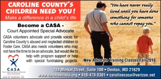 Caroline County's Children Need You!
