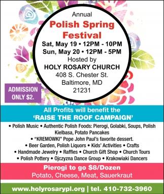 Polish Spring Festival