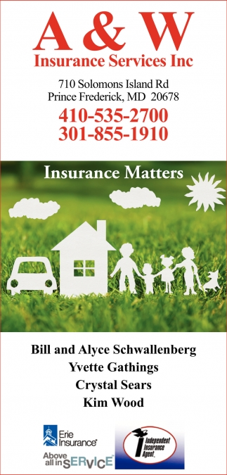 A And W Insurance Services Inc,
