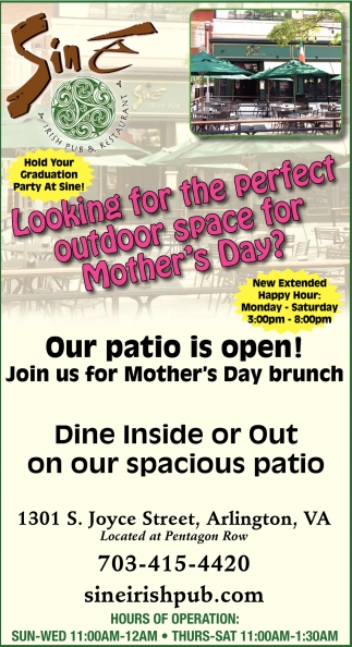 Looking for the Perfect Outdoor Space for Mother's Day?