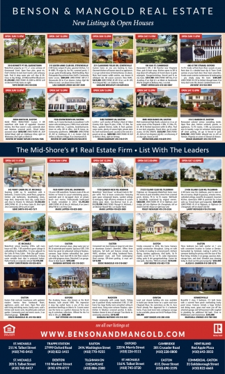 New Listings & Open House